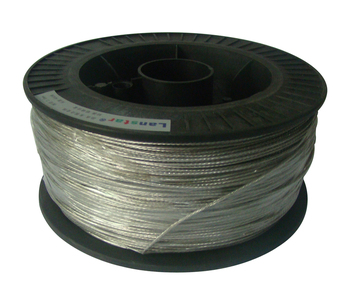 2.0 mm diameter,250 m /roll aluminium alloy wire for aluminium fence,high withstand voltage