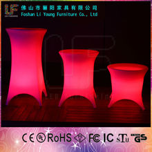 2016 Wholesale simple modern good quality creating atmosphere for nightclub and bar colorful led garden flower pot LGL55-8601