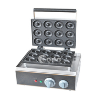 Chinese commercial donut maker machine Nonstick Mini Doughnuts With 12 holes