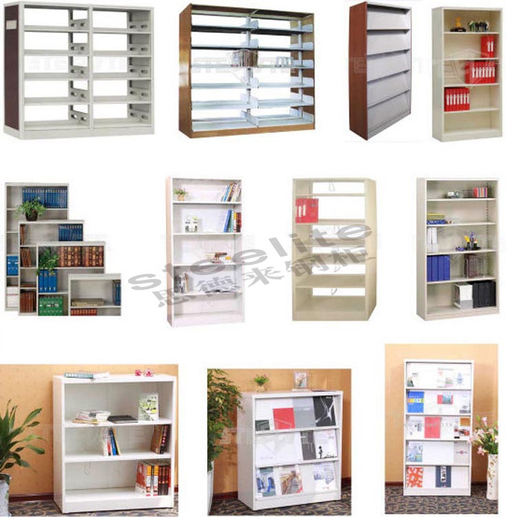 Best selling library steel bookcase metal book shelf for Read your bookcase buy