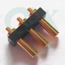female waterproof connector2.0*5.8mm 3pin 2.54mm connector pogo pin battery connector