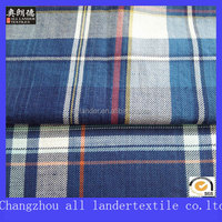 big bulk check design denim fabric for shirts