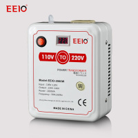 Voltage Converter 110V to 220V Household Power Supply Transformer 100V General Purpose 2000W Voltage Display
