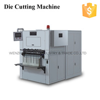 QC-750 Paper Roll to Paper Fan Semi Automatic Die Cutting Machine