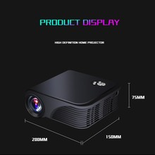Wholesale 1800Lumens Full HD 3D Mini Smart video Projector S320 Daylight Outdoor beam projector