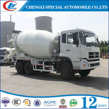 LHD or RHD Dongfeng 6*4 construction mixertruck High Quality 6x4 Dongfeng new cement 340 HP hydraulic motor concrete mixer truck
