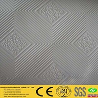 lowest price/good quality pvc ceiling tiles 60x60