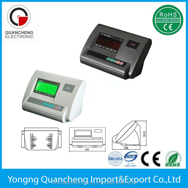 OIML XK3190-A12E Chinese Electronic Digital Weighing Indicator