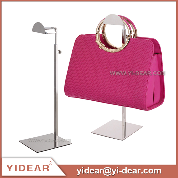 YIDEAR Square Base Adjustable Metal Handbag Display <strong>Stands</strong>