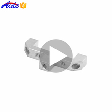 Custom precision cnc machining parts aluminium extrusion for Automation