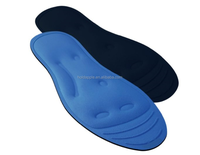 Cool Liquid Gel Massage Therapy Comfort Insoles - Help Relieve Poor Circulation, Heel Pain, Plantar Fasciitis HA00114