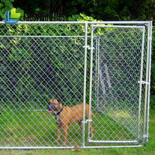 Hot selling galvanized tube large outdoor chain link dog enclosures