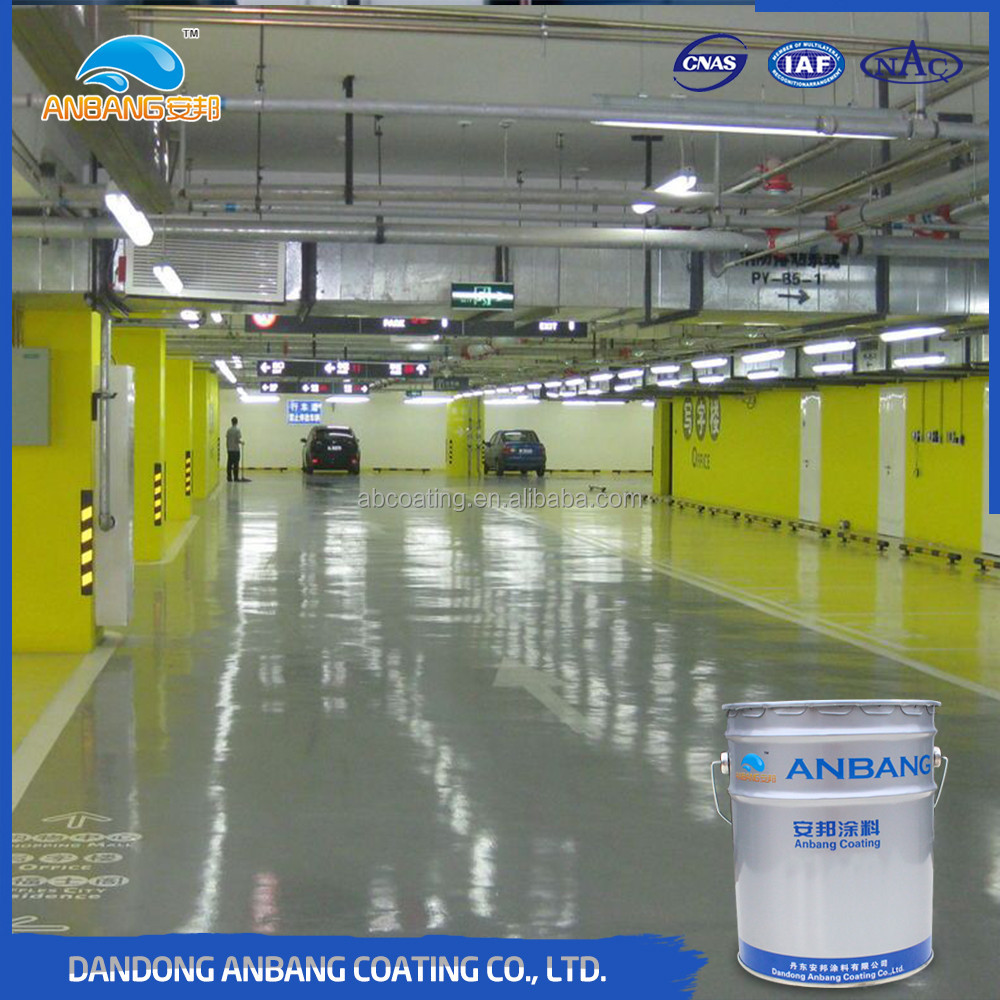 Solvent resistance good filling capacity floor intermediate sport floor coating