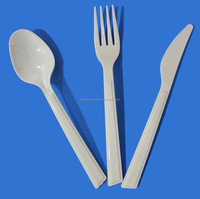disposable cheap plastic cutlery medium weight plastic cutlery