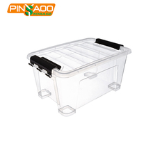 Eco-Friendly Customized Clear Household Underbed Plastic Boxes , Storage Box With Lid