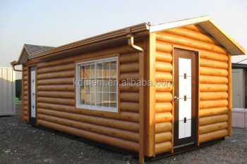 wooden container house