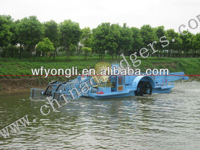 Aquatic plant harvester
