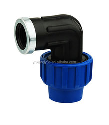 compression fitting price list female thread 90 degree elbow