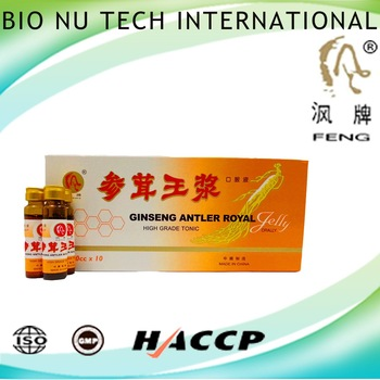 healthy food of delicious ginseng antler royal jelly 1 group