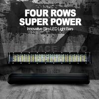 12 volt curved 4 row OFF ROAD LED LIGHT BARS,TRUCK WORKING LIGHT BAR,180W LED OFFROAD LIGHT BAR