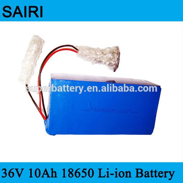 Awesome performance 36V 10Ah 18650 Li-ion battery for EV , Golf cart