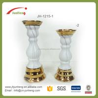 Gift crafts white ceramic candle holders, bulk tealight candle holders, candle in ceramic jar
