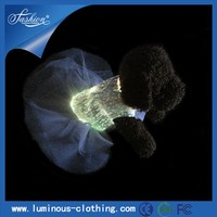 LED lighting fabric high fashion party costume funny pet pig dog clothes