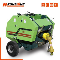 Manufacturer mini round hay/straw/ baler for sale