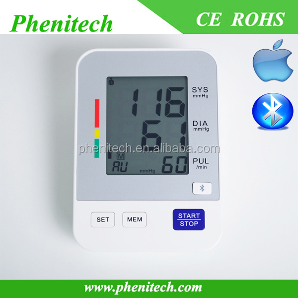 Bluetooth digital blood pressure monitor / apparatus for Andriod