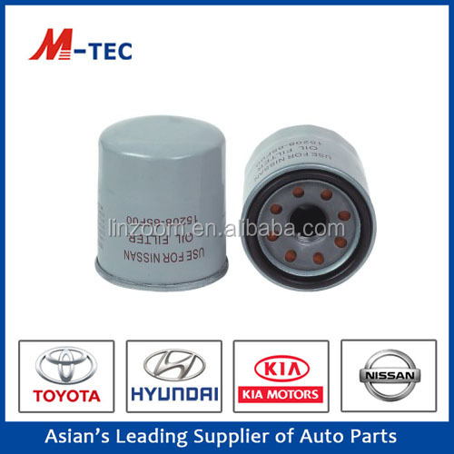 High performance auto parts oil filter15208-65F00 for Tiida