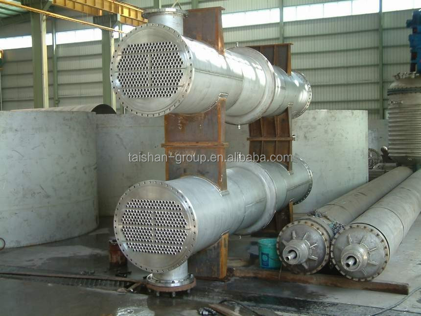 The leading manufacturer o ASME Standard shell and tube heat exchanger & condenser