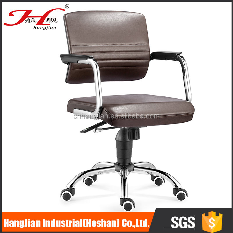 HANGJIAN S205B11 Wholesale price classic medium back plastic conference chair with armrest