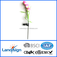 cixi landsign XLTD-723C solar tulip light for garden solar decor outdoor led garden lighting
