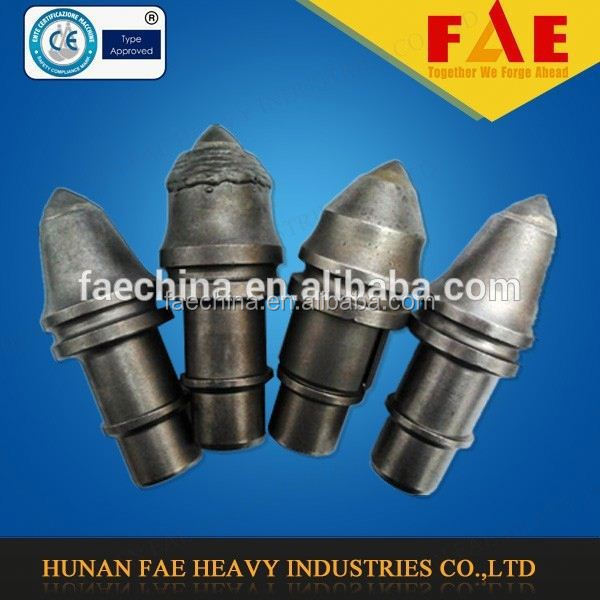 trenching bit holders/round shank pick holders/construction drilling bit blocks