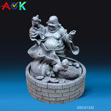 Indoor Ornaments Religious Fengshui Hindu Smiling Buddha Fountain