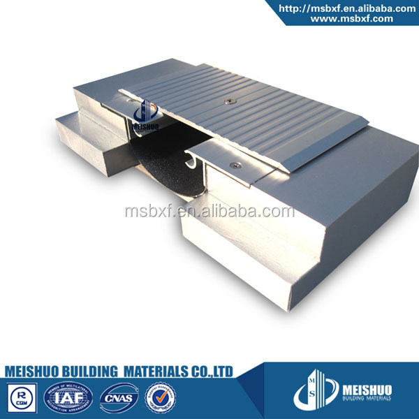 hot sale finished aluminum profile floor building expansion joints