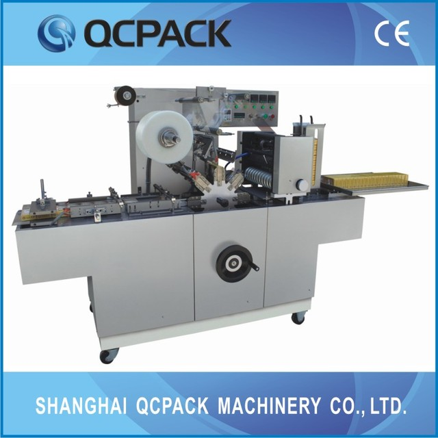factory price cigaratte box wrapping machine