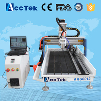 Acctek cheap stone carving cnc machine tools 6012/cnc router furniture engraving machine