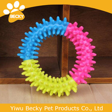 SALE Colorful Pet Natural Tough TPR Rubber Toy Cat Dog Chew Toys