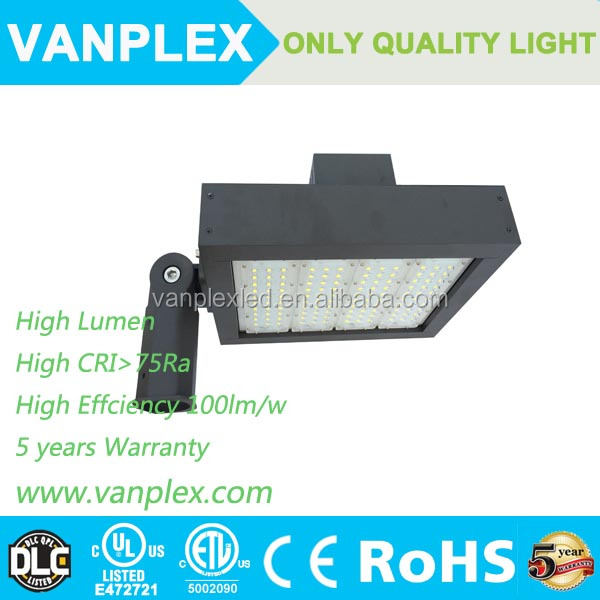 High brightness module street led light, 150w LED shoe box lighting led parking lot lighting DLC UL CE ROHS SAA