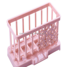 Hot Seller Customized Kitchen Type Plastic Sponge Rack Storage rack