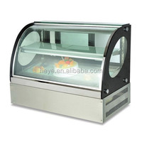 110L 2layer cake display showcase for supermarket