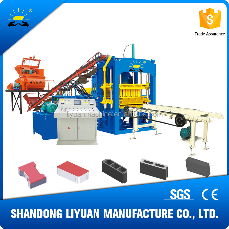 China New Innovative Product QT4-15C Hydraulic Press Concrete Machine Bricks Making Machine Price