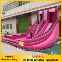 new Double Slides To Rent Inflatable Water Toys