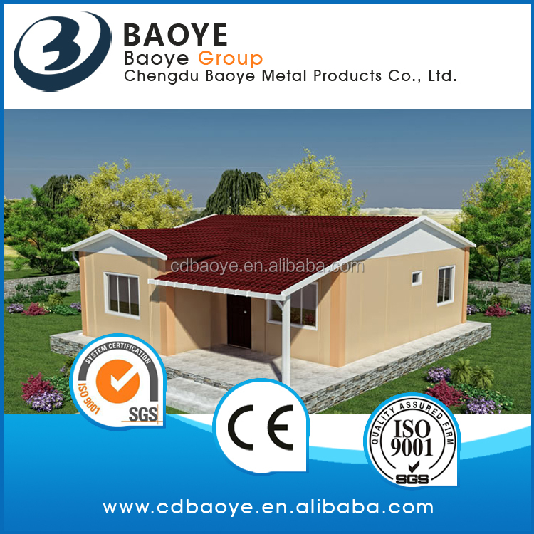prefabricated home small house with two bedrooms