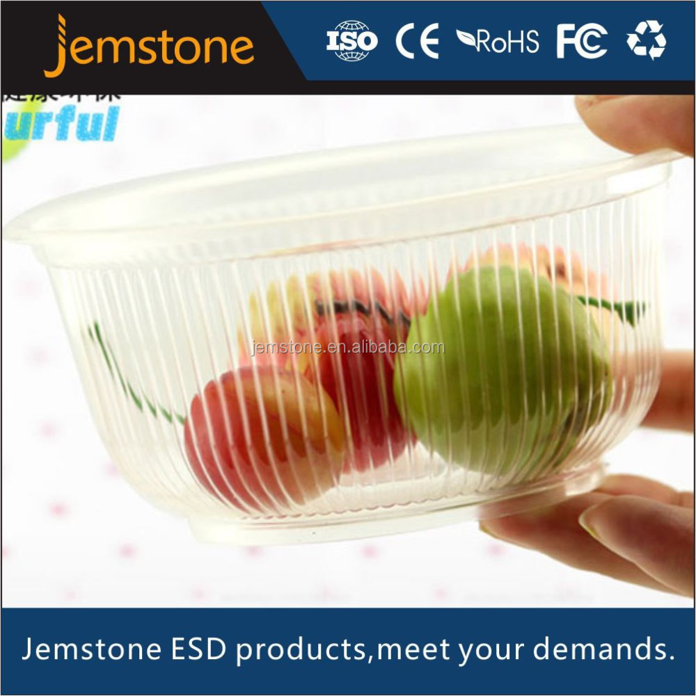 Disposable Fruit and vegetable packaging tray