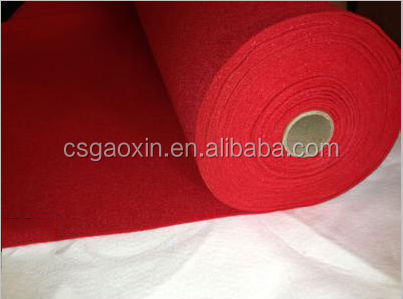 Eco-friendly and recyling polyester nonwoven carpet