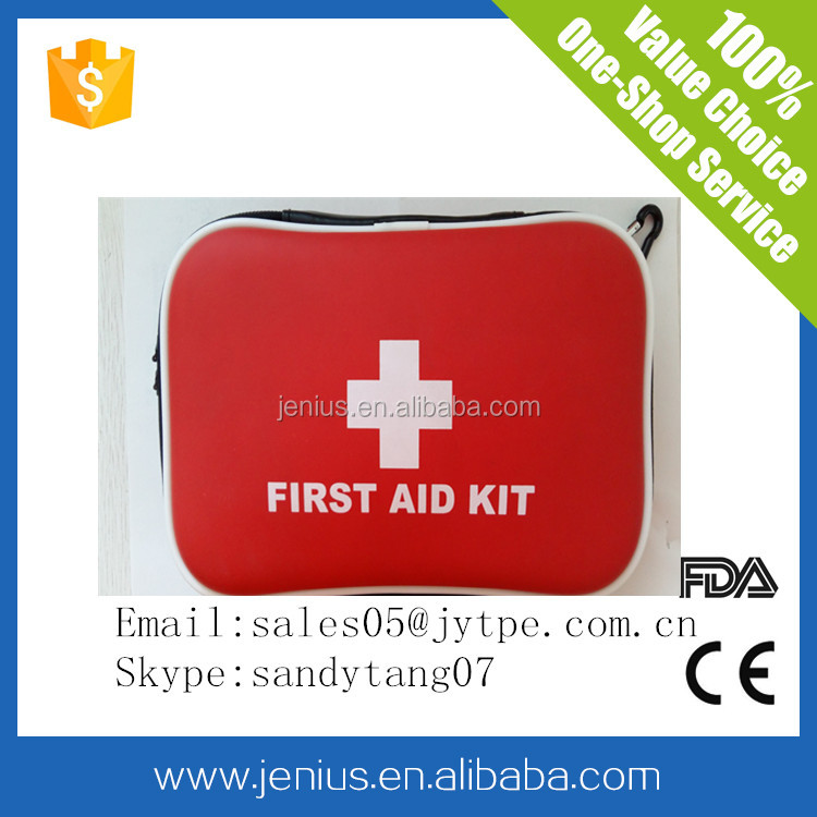 Waterproof Durable Light Emergency Car Travel First Aid Kit with bag han