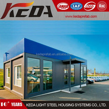 Mobile Shop Container Store Display Office with Big Glass Window 368
