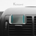 Mini Colorful Car Mobile Phone Vent Mount air magnetic Android air-vent mount Phone car holder Aluminium Sillcon